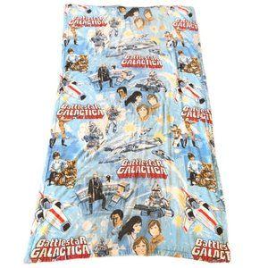 Vintage Star Wars BattleStar Gallactica Comforter